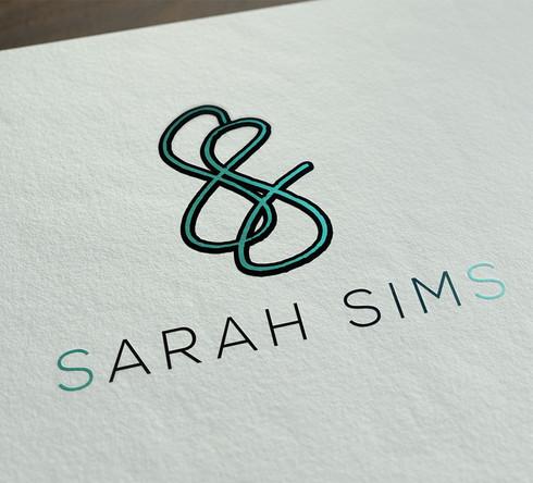Sarah Sims Logo Design