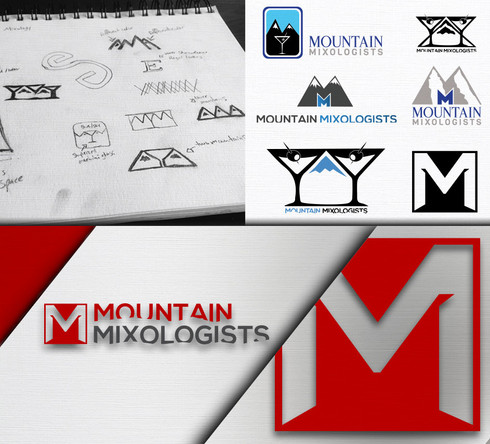 Mountain Mixologists Logo Design