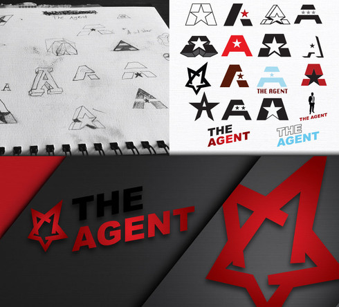 The Agent Logo Design