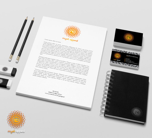 Myst Appeal Stationery Design