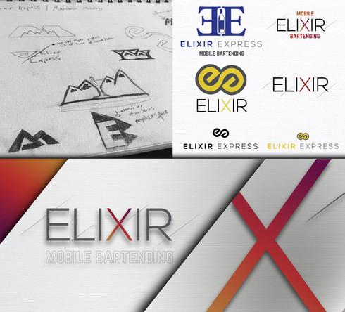 Elixir Logo Design