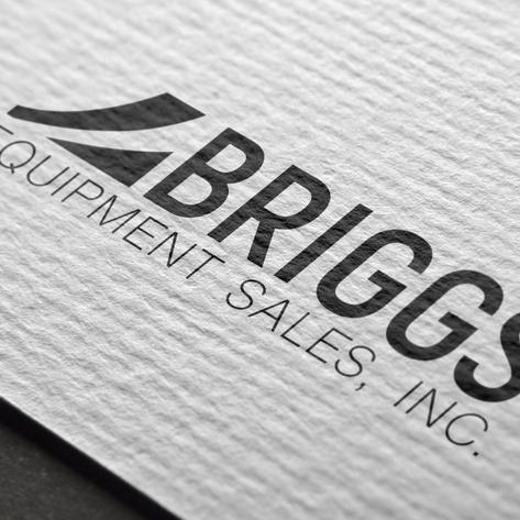 Briggs Equipment Sales, INC. Logo Design