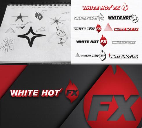 White Hot FX Logo Design