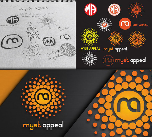 Myst Appeal Logo Design