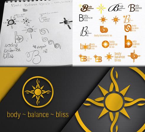 Body Balance Bliss Logo Design