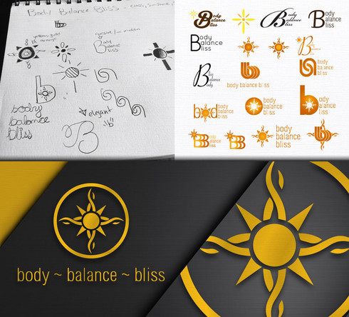 Body Balance Bliss Logo Design