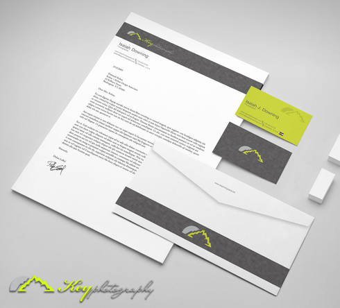 Key Photography Stationery Design