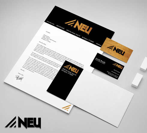 Neu Stationery Design