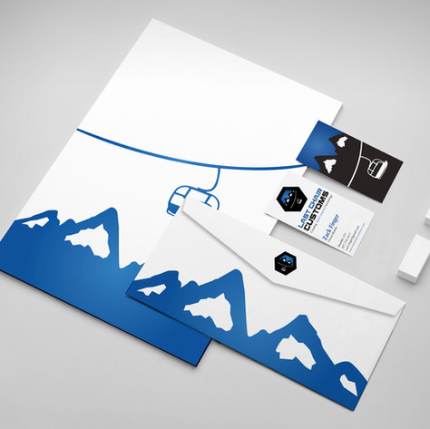 Last Chair Customs Print Design