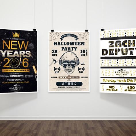 Vail Ale House Poster Design