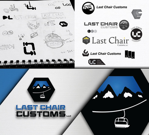 Last Chair Customs Logo Design