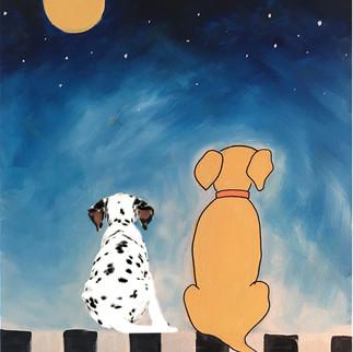 puppies looking at the moon.jpg
