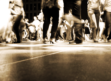 Dance Floor Blur