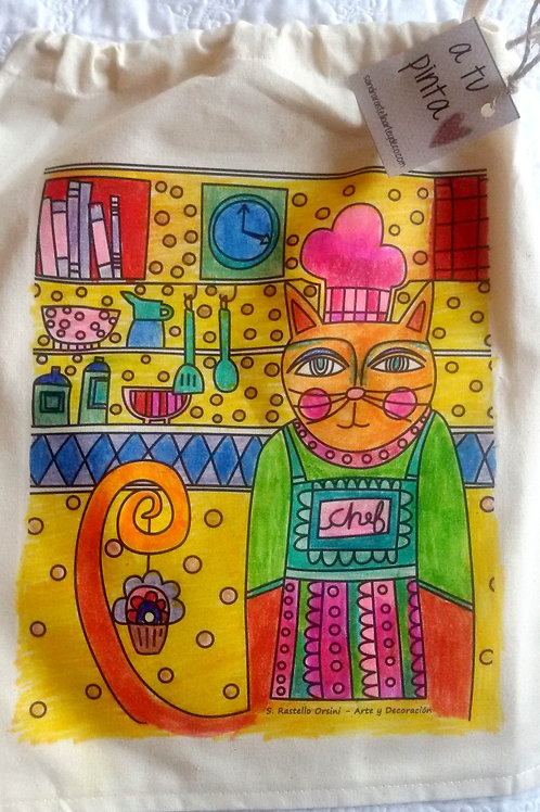 Bolsa Mediana con cordón N°23
