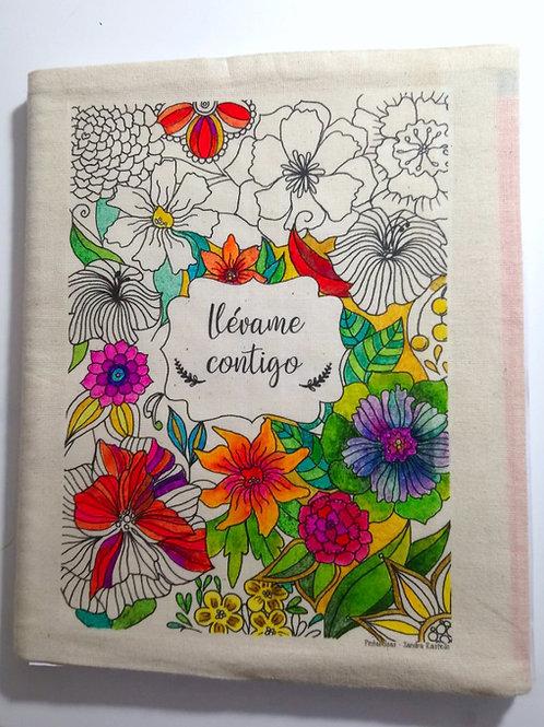 Forro de Cuaderno universitario para pintar N°1