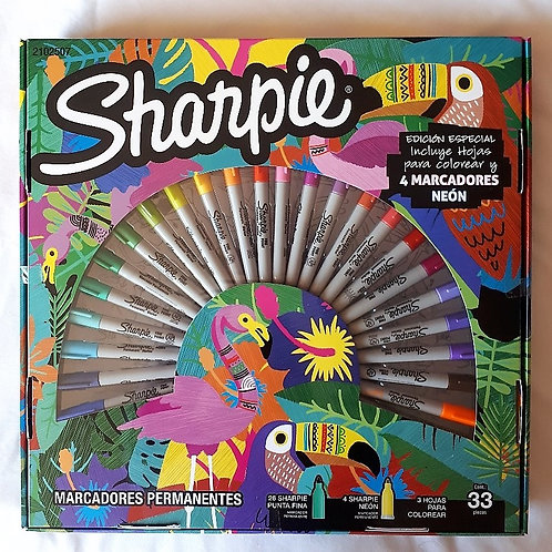 Ruleta Sharpie 33 unidades