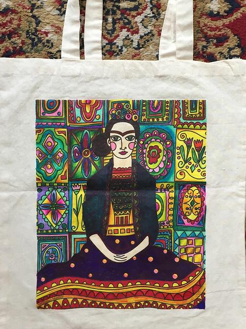 Bolsa Diseño N°10 pintado por clienta