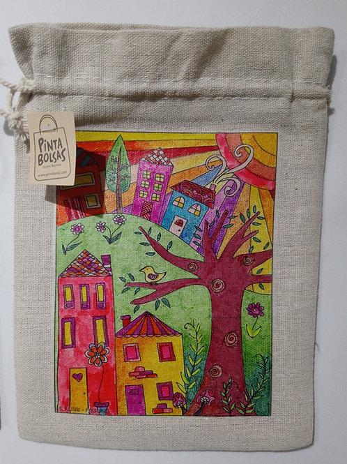 Bolsa mini con cordón N°25