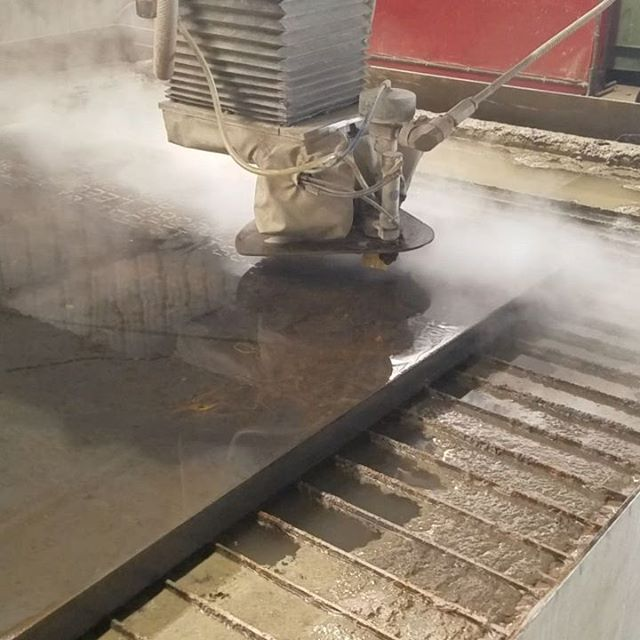 FLOW water jet cutting