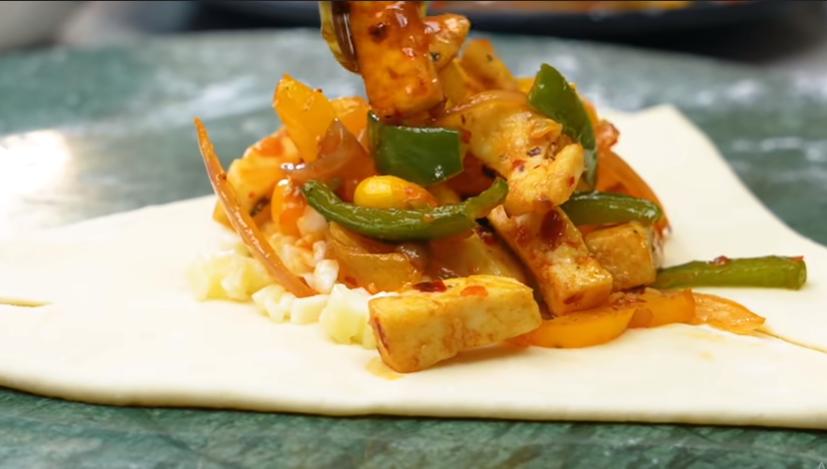 Tasty breakfast recipe-वेज झींगी पार्सल रेसिपी बनाये पटसे |