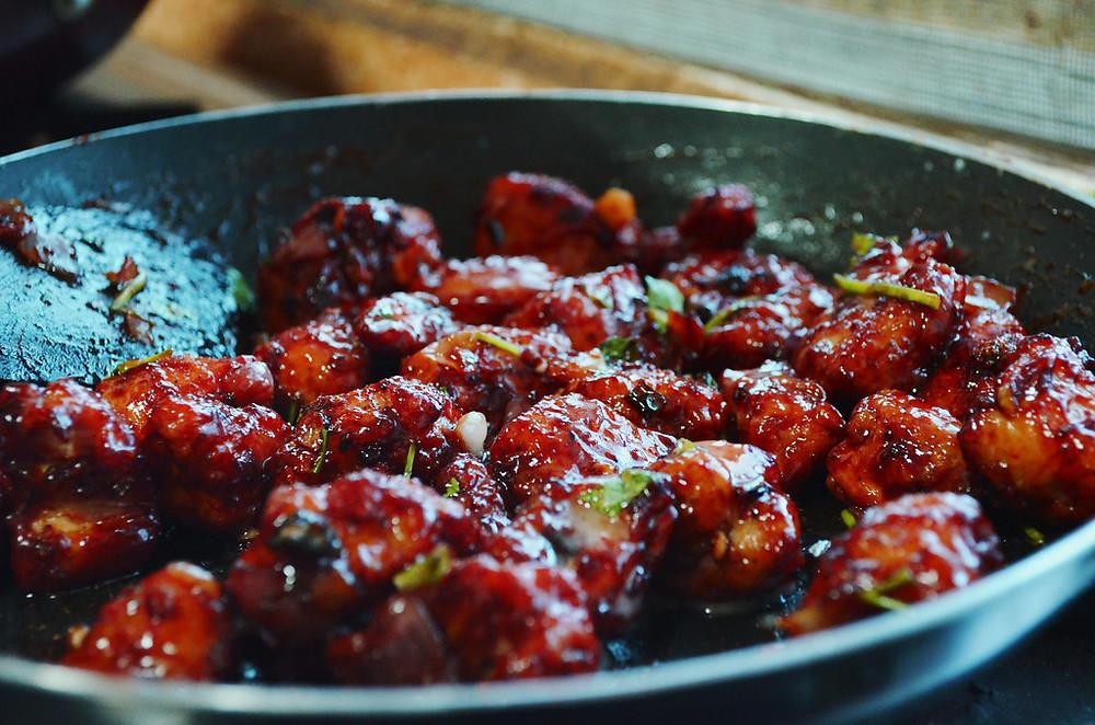 Manchurian recipe- वेज ड्राई मंचूरियन रेसिपी हिंदी में- The food feed.