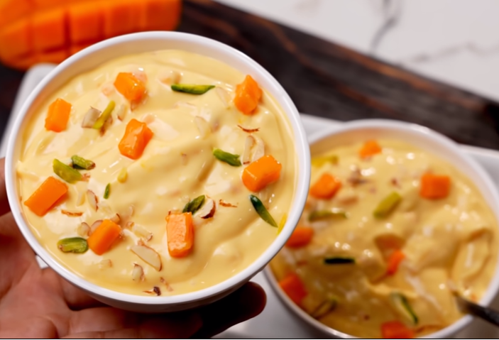 Mango shrikhand recipe- आम श्रीखंड एकदम होटल जैसे बनाये २०२१ |