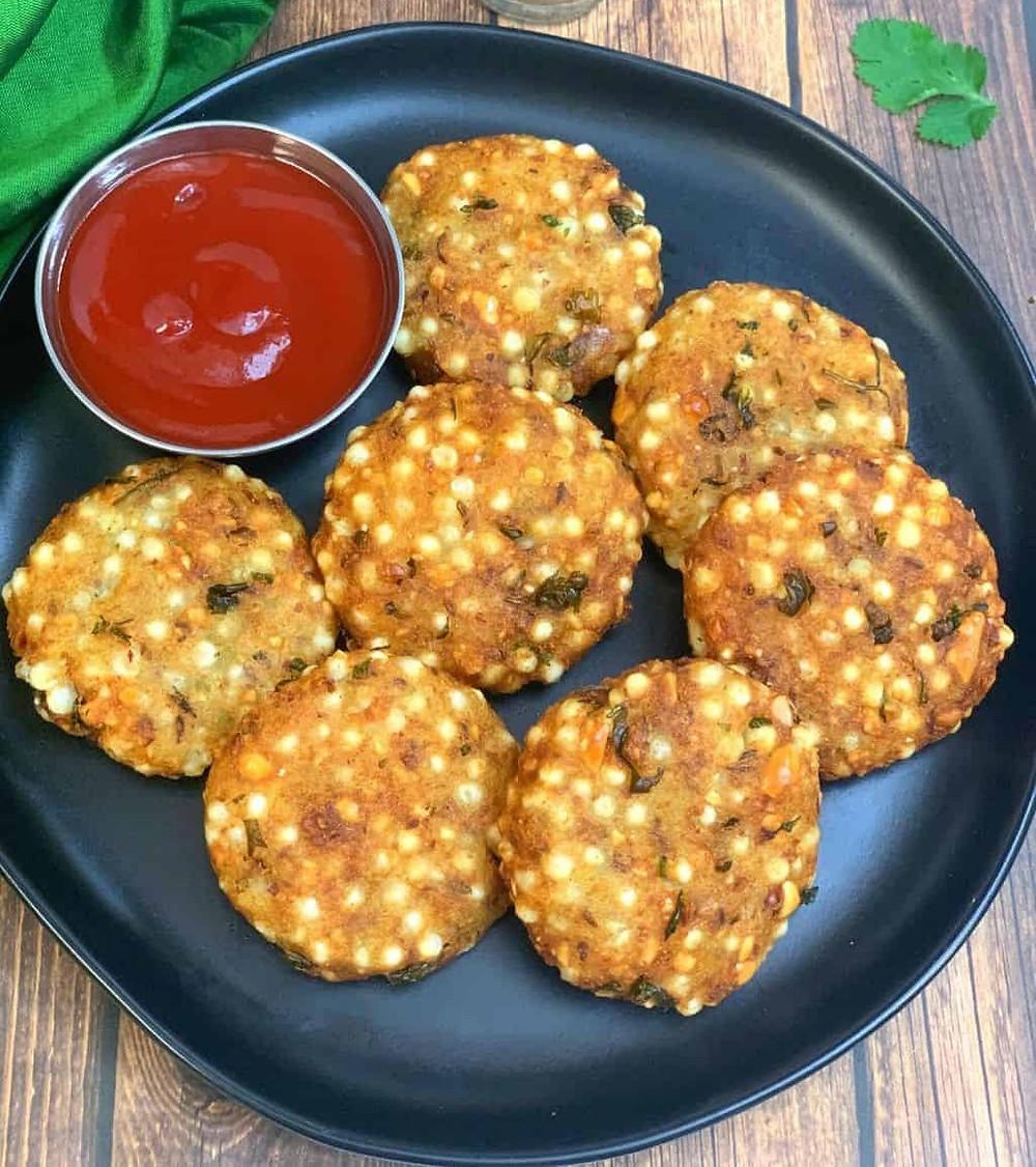 Sabudana vada recipe- नाश्ते में गरमा गरम साबूदाना वडा बनाये 2021  