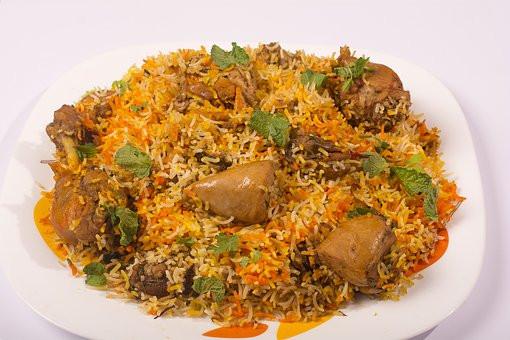 Hyderabadi chicken biryani recipe- हैदराबादी चिकन बिरयानी रेसिपी  .