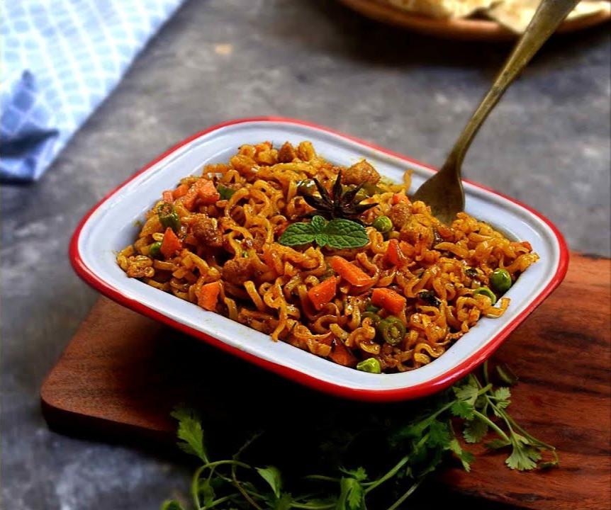 Maggi Biryani Noodles- Maggi बिरयानी रेसिपी बनाये आसानी से 2021