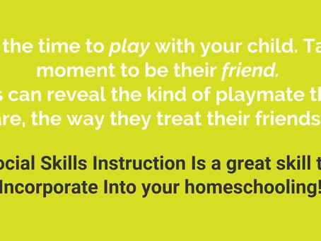 Teaching Social Skills at Home
