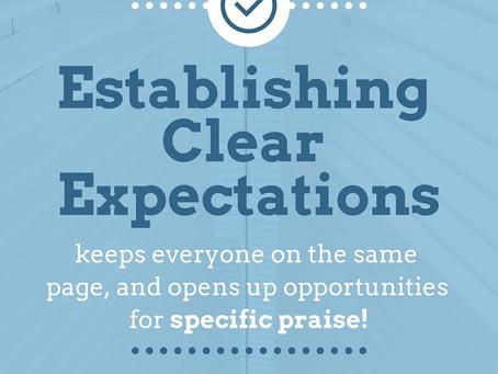 The Quarantine Series (Part 1) Setting Expectations
