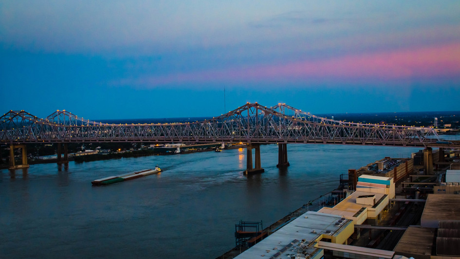 New Orleans Sunset
