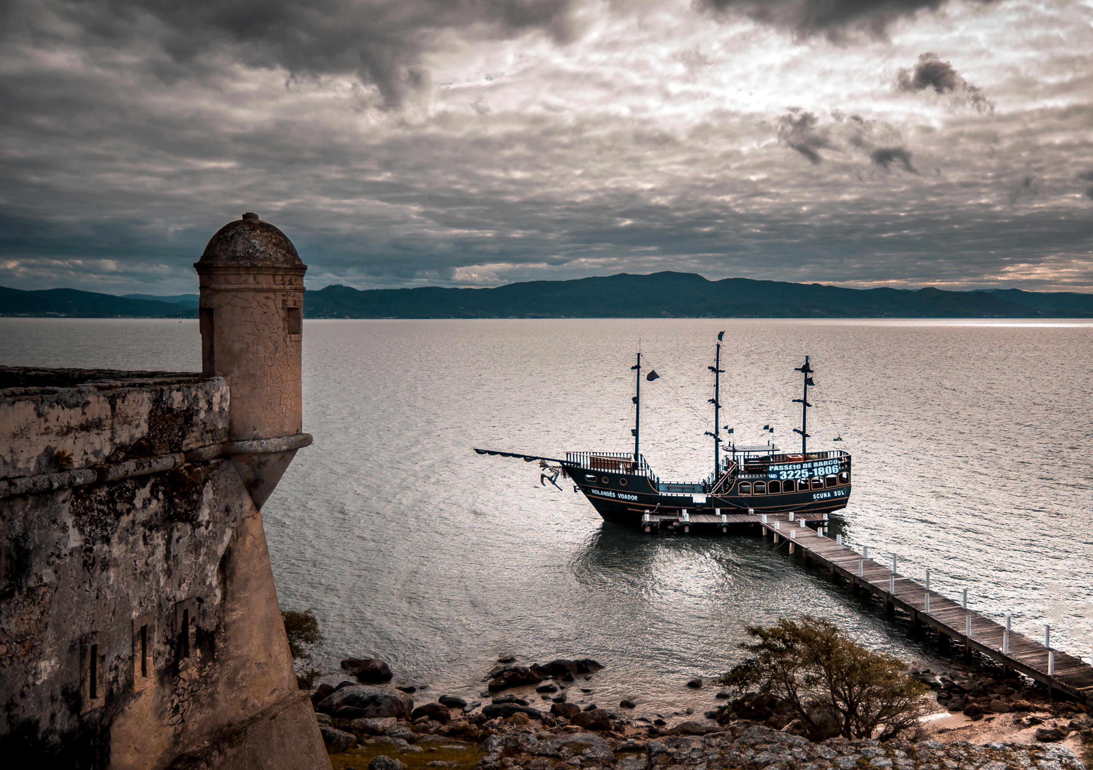 Barco Pirata Passeio Contemplativo!