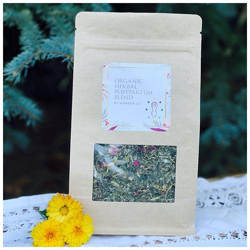 Organic Herbal Postpartum Yoni Blend