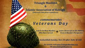 Veterans Day Commemoration