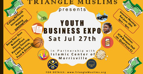 Triangle Muslims Youth Business Expo 2019