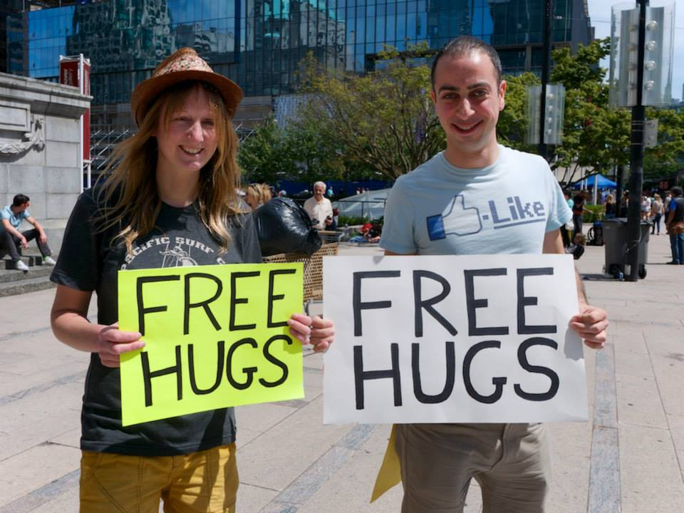 2014 Free Hugs Downtown