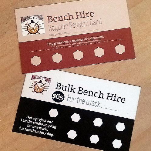 Bulk Bench Hire Card