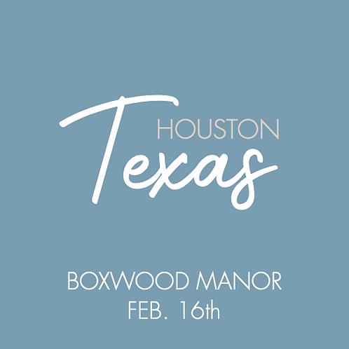 Boxwood Manor   Feb. 16