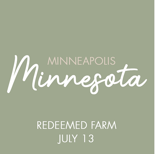 Redeemed Farm | July 13