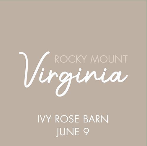 Ivy Rose Barn | June 9