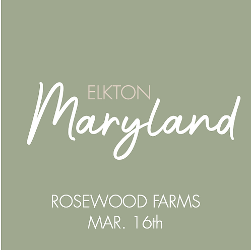 Rosewood Farms | March 16