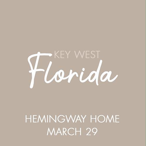 Hemingway Home | Mar 29