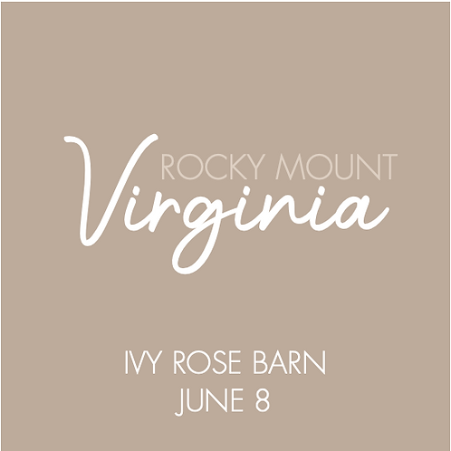 Ivy Rose Barn | June 8