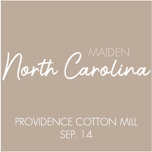 Providence Cotton Mill | Sep. 14