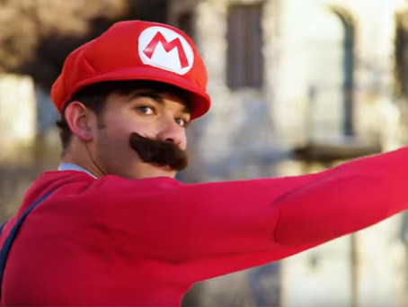 Recrean Super Mario Run en la vida real