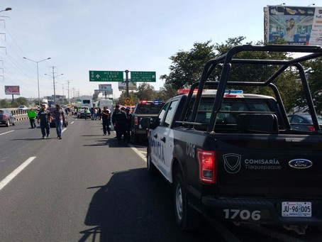 Tercer día de protestas por 'gasolinazo' en Jalisco