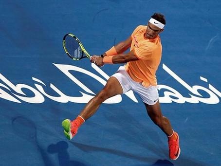 Arrasador regreso de Rafael Nadal en Abu Dhabi