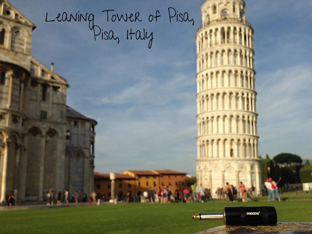 SHNOOR-Leaning Tower of Pisa, Pisa, Ital