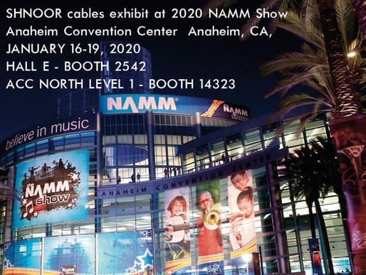 shnoor@The 2020 NAMM ShowAnaheim Convention Center • Anaheim, CA